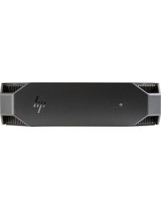 HP Z2 mini G4 i7-8700 PC 8th gen Intel® Core™ i7 8 GB DDR4-SDRAM 256 SSD Windows 10 Pro Workstation Black Hp 4RW97EA#UUW - 1