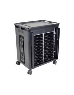HP 20 Mgd Charging cart V2 Black Notebook Multimedia Hp T9E83AA#ABB - 1
