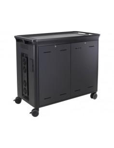 HP 30 Mgd Charging Cart V2 Musta Kannettava tietokone Multimediakärry Hp T9E85AA#ABB - 1