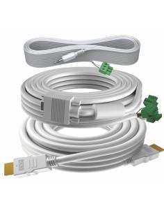 Vision TC3-PK5MCABLES VGA-kabel 5 m VGA (D-Sub) Vit Vision TC3-PK5MCABLES - 1