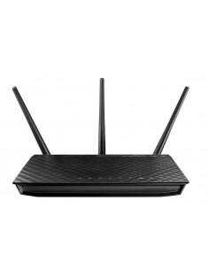 ASUS RT-AC66U trådlös router Gigabit Ethernet Dual-band (2,4 GHz / 5 GHz) Asus 90IG0300-BU2000 - 1