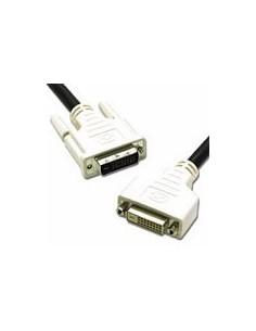 C2G 5m DVI-D M/F Dual Link Digital Video Extension cable DVI Black C2g 81196 - 1