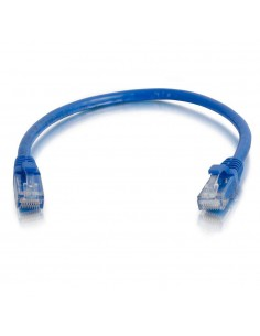 C2G 1.5m Cat6 Booted Unshielded (UTP) Network Patch Cable - Blue C2g 83387 - 1