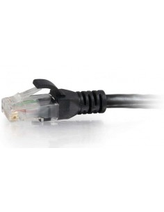 C2G 0.3m Cat6 RJ-45 m/m networking cable Black U/UTP (UTP) C2g 83404 - 1