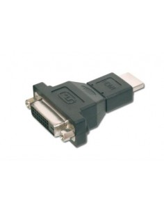 ASSMANN Electronic AK-330505-000-S cable gender changer HDMI A DVI-I (24+5) Black Assmann AK-330505-000-S - 1