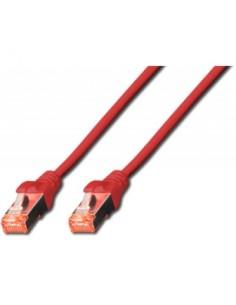Digitus Cat6 S/FTP verkkokaapeli Punainen 3 m (S-STP) Digitus DK-1644-030/R - 1