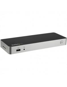 StarTech.com USB C Dock - Dual Monitor HDMI & DisplayPort 4K 30Hz Type-C Laptop Docking Station 60W Power Delivery, SD Startech