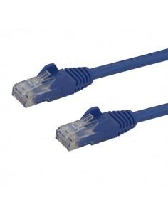 StarTech.com 1m CAT6 Ethernet Cable - Blue CAT 6 Gigabit Wire -650MHz 100W PoE RJ45 UTP Network/Patch Cord Snagless w/Strain Sta