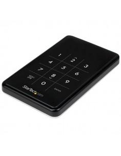 "StarTech.com S2510BU33PW tallennusaseman kotelo HDD-/SSD-kotelo Musta 2.5"" Startech S2510BU33PW - 1"