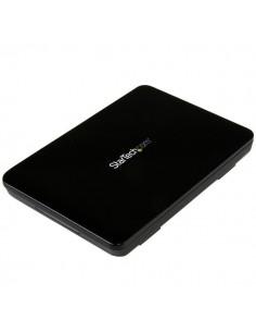 "StarTech.com S251BPU31C3 tallennusaseman kotelo 2.5"" HDD-/SSD-kotelo Musta Startech S251BPU31C3 - 1"