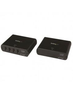 StarTech.com USB 2.0 över Gigabit LAN eller direkt Cat5e/Cat6 Ethernet-förlängningssystem med 4 portar – upp till 100 m Startech