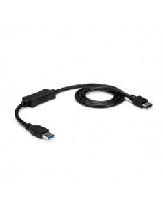 StarTech.com USB3S2ESATA3 cable gender changer USB 3.0 A eSATA Musta Startech USB3S2ESATA3 - 1
