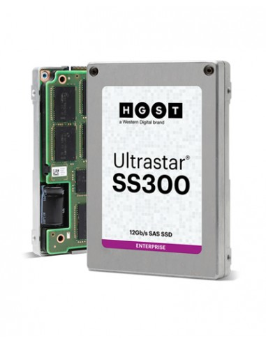 "Western Digital Ultrastar SS300 2.5"" 480 GB SAS 3D TLC Hgst 0B34896 - 1"