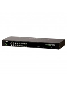Hewlett Packard Enterprise ATEN CS1304 G2 0x1x4 Analog KVM switch Rack mounting Black Hp Q1F44A - 1