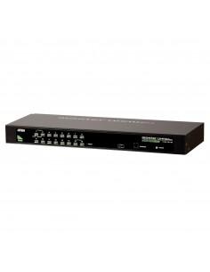 Hewlett Packard Enterprise ATEN CS1304 G2 0x1x4 Analog KVM-switchar Rackmontering Svart Hp Q1F44A - 1
