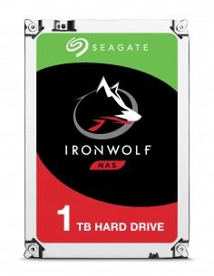 """Seagate IronWolf ST1000VN002 sisäinen kiintolevy 3.5"""" 1000 GB Serial ATA III Seagate ST1000VN002 - 1"""