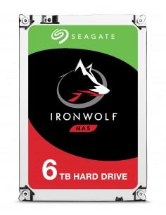 """Seagate IronWolf ST6000VN0033 sisäinen kiintolevy 3.5"""" 6000 GB Serial ATA III Seagate ST6000VN0033 - 1"""