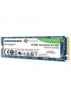 Seagate BarraCuda 510 M.2 512 GB PCI Express 3.0 3D TLC NVMe Seagate ZP512CM30041 - 1