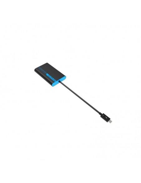 Sapphire 44005-02-20G videokaapeli-adapteri 0.28 m Thunderbolt 3 2 x HDMI Sininen, Harmaa Sapphire Technology 44005-02-20G - 3