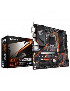 Gigabyte B365 M AORUS ELITE moderkort Intel LGA 1151 (uttag H4) micro ATX Gigabyte B365 M AORUS ELITE - 1
