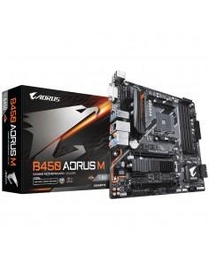Gigabyte B450 AORUS M (rev. 1.0) AMD Kanta AM4 mikro ATX Gigabyte B450 AORUS M - 1