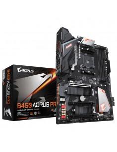 Gigabyte B450 AORUS PRO (rev. 1.0) AMD Uttag AM4 ATX Gigabyte B450 AORUS PRO - 1
