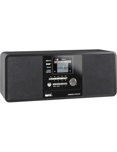 Imperial DABMAN i200 CD Digitaalinen 20 W Musta Imperial 22-236-00 - 1