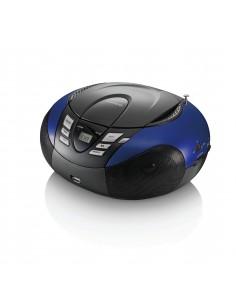 Lenco SCD-37 Digital Black, Blue Lenco SCD37USBB - 1