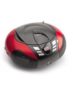 Lenco SCD-37 Digital Black, Red Lenco SCD37USBR - 1