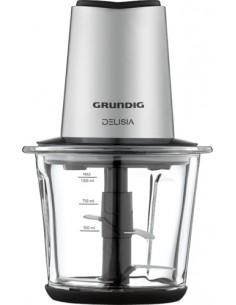 Grundig CH 8680 elektrisk matberedare 1 l 800 W Svart, Rostfritt stål Grundig CH 8680 - 1
