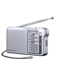 Panasonic RF-P150DEG Portable Analog Silver Panasonic RFP150DEGS - 1