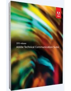 Adobe Technical Communication Suite 2015 1 lisenssi(t) Päivitys Englanti Adobe 65261703AD01A00 - 1