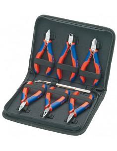 Knipex 00 20 16 tekninen työkalusetti 7 työkalua Knipex 00 20 16 - 1