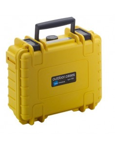 B&W Type 500 DJI Osmo Pocket kameradroonin kotelo Salkku Keltainen Polypropeeni (PP) B&w International 500/Y/OSMOP - 1