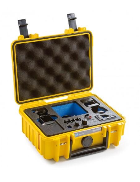 B&W Type 500 DJI Osmo Pocket kameradroonin kotelo Salkku Keltainen Polypropeeni (PP) B&w International 500/Y/OSMOP - 2
