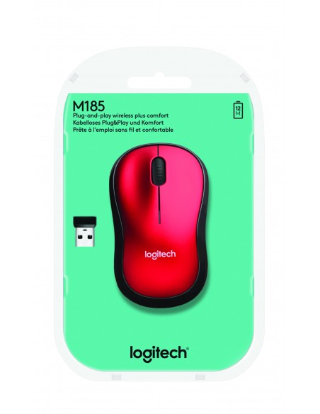 Logitech LGT-M185R Logitech 910-002237 - 5