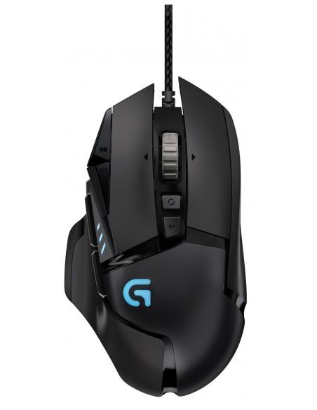 Logitech G502 hiiri USB Optinen 12000 DPI Oikeakätinen Logitech 910-004617 - 1