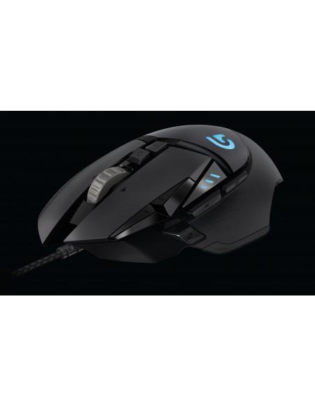 Logitech G502 hiiri USB A-tyyppi Optinen 12000 DPI Oikeakätinen Logitech 910-004617 - 3