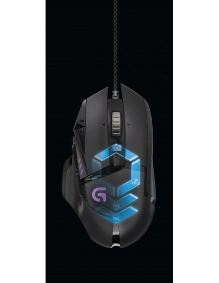 Logitech G502 hiiri USB Optinen 12000 DPI Oikeakätinen Logitech 910-004617 - 7