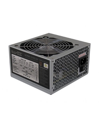 LC-Power LC420-12 V2.31 virtalähdeyksikkö 350 W 20+4 pin ATX Harmaa Lc Power LC420-12 V2.31 - 1