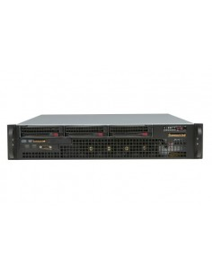 Supermicro CSE-825MTQ-R700LPB Rack Black, Stainless steel 700 W Supermicro CSE-825MTQ-R700LPB - 1