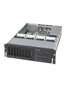 Supermicro SuperChassis 833T-653B Rack Black 650 W Supermicro CSE-833T-653B - 1