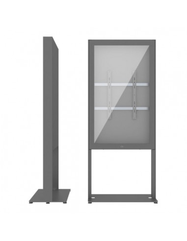 """SMS Smart Media Solutions 55P Casing Freestand Basic G2 DG 139.7 cm (55"""") Grå Sms Smart Media Solutions 702-003-22 - 1"""