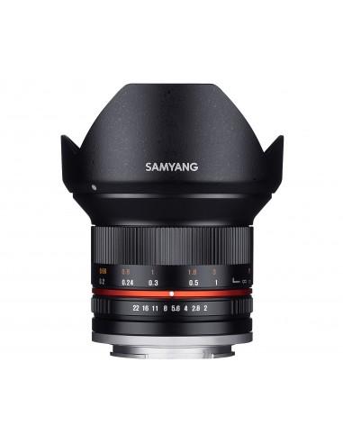 Samyang 12mm F2.0 NCS CS SLR Laajakulmaobjektiivi Musta Samyang 21578 - 1