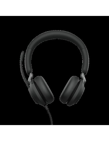 Jabra Evolve2 40. MS Stereo Kuulokkeet Pääpanta Musta Jabra 24089-999-899 - 2