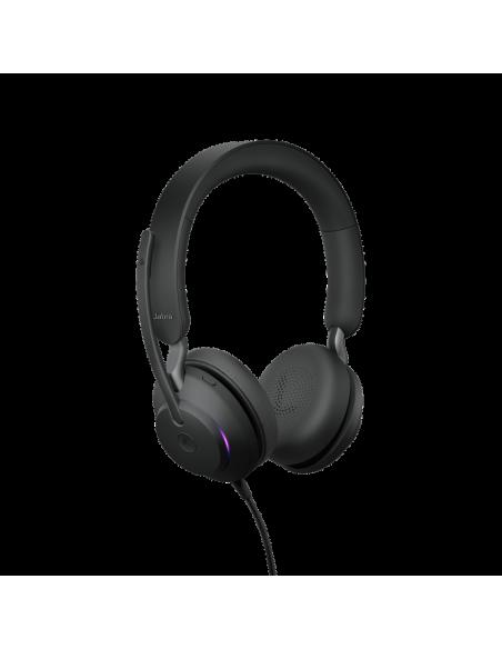 Jabra Evolve2 40. MS Stereo Kuulokkeet Pääpanta Musta Jabra 24089-999-899 - 3