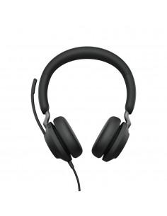 Jabra Evolve2 40. MS Stereo Kuulokkeet Pääpanta Musta Jabra 24089-999-999 - 1
