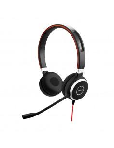 Jabra Evolve 40 UC Stereo USB-C Kuulokkeet Pääpanta Musta Jabra 6399-829-289 - 1