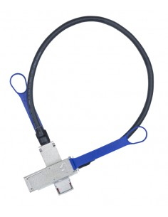 Mellanox Technologies LinkX InfiniBand-kaapeli 2.5 m QSFP Sininen Mellanox Hw MC2207128-0A2 - 1