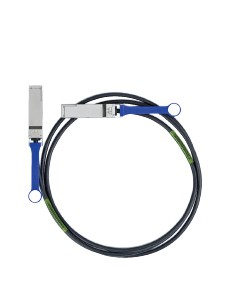 Mellanox Technologies 0.5m QSFP InfiniBand-kaapeli 0,5 m Musta Mellanox Hw MC2207130-00A - 1